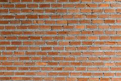 Pattern of Red brick wall for background and textured, Seamless Red brick wall background. Old Brick texture, Grunge brick wall background royalty free stock photography