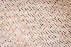 Pattern of red brick wall texture for background Stock Photos