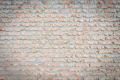 Pattern of red brick wall texture for background Stock Images