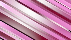 Pattern of red color strips prisms. Abstract background. 3D rendering illustration Stock Illustration