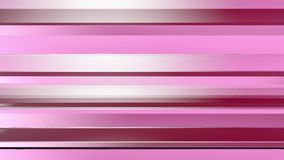 Pattern of red color strips prisms. Abstract background. 3D rendering illustration. stock footage