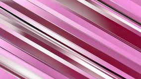 Pattern of red color strips prisms. Abstract background. 3D rendering illustration Royalty Free Stock Image