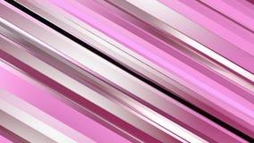 Pattern of red color strips prisms. Abstract background. 3D rendering illustration Vector Illustration