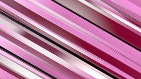 Pattern of red color strips prisms. Abstract background. 3D rendering illustration Stock Images