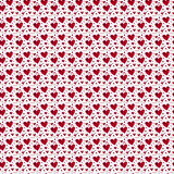 Pattern red heart rose petals Royalty Free Stock Images