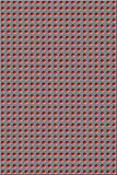 Pattern - red holes Royalty Free Stock Image