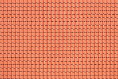 Pattern of red roof Stock Photography