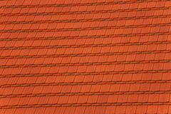 Pattern of red roof Royalty Free Stock Photography