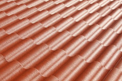 Pattern of red roof Stock Photo