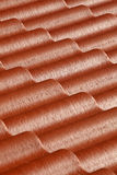 Pattern of red roof Royalty Free Stock Image