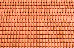 Pattern of red roof tiles Royalty Free Stock Image
