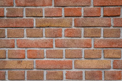 Pattern red sand brick wall background Royalty Free Stock Photos