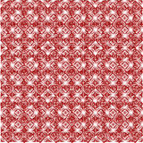 Pattern from red shapes like laces Stock Image