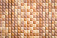 Pattern of red square sandstone wall texture Stock Photo