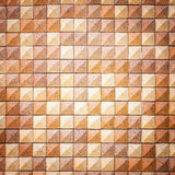 Pattern of red square sandstone wall texture Stock Image