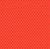 Pattern red volume scales Royalty Free Stock Photography