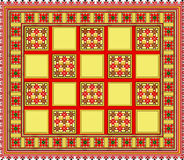 Pattern,  regular motif, tablecloth, picture Royalty Free Stock Photography