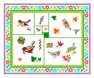 Pattern, regular motif, tablecloth, picture Stock Images