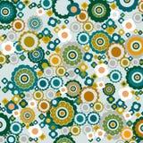 pattern retro Στοκ Φωτογραφία