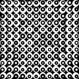 Pattern retro black and white background Royalty Free Stock Photography
