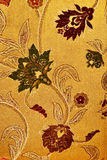 Pattern of a retro floral tapestry Royalty Free Stock Image