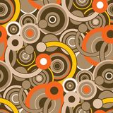 pattern retro seamless Στοκ φωτογραφία με δικαίωμα ελεύθερης χρήσης