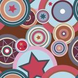 pattern retro seamless Στοκ εικόνα με δικαίωμα ελεύθερης χρήσης