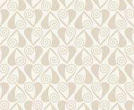 pattern retro seamless vector Μπεζ υπόβαθρο Στοκ Εικόνες