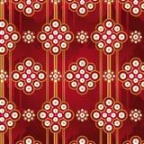 pattern retro seamless vector Στοκ φωτογραφία με δικαίωμα ελεύθερης χρήσης