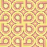 pattern retro sunny weave Στοκ Εικόνα