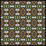 Pattern rhinestones for Valentine's Day. Pattern from brilliant stones. Royalty Free Stock Photo