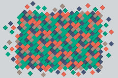 Pattern of rhombuses. The background with colored rhombus for web site Royalty Free Stock Photography