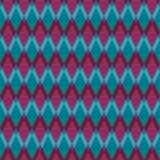 Pattern of rhombuses Royalty Free Stock Image