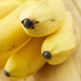 Pattern of the ripe bananas Stock Photo
