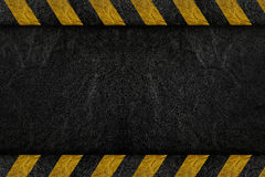 Pattern on road. Texture with yellow stripe stock image
