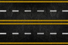Pattern on road texture Royalty Free Stock Image