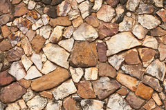 Pattern of rock wall Stock Photo