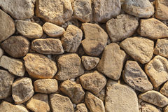 Pattern of rocks wall Royalty Free Stock Photography