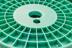 Pattern of roll plastic Royalty Free Stock Images