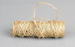 Pattern rolled string used for yardwork Royalty Free Stock Photo