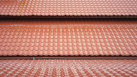 Pattern of roof. 3 layers of pattern of the rooftop royalty free stock image