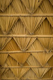Pattern roof from palm Royalty Free Stock Images