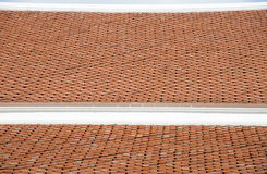 The Pattern of roof temple. 2 Royalty Free Stock Photography