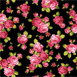 Pattern of rose,. I made a beautiful rose a painting Royalty Free Stock Photo