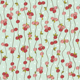 Pattern with roses Stock Images