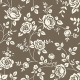 Pattern with roses royalty free illustration