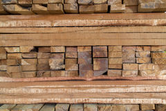 Pattern of rough sawn timber Stock Photo