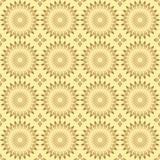 Pattern with round elements - vector Royalty Free Stock Photo