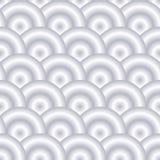 Pattern. Round shape seamless pattern - vector illustration Stock Photos