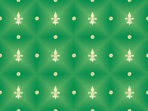 Pattern with royal lilies Stock Images